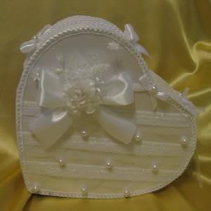 31Коробки для свадьбы своими руками из ткани