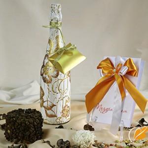 Цена: 530 руб.  (Цена указана за работу ручной росписи бутылки.